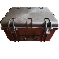 Buy cheap PP Composites Lockable Plastic Tool Box Hard With Foam Wheels / Handle from wholesalers
