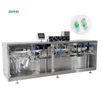 Buy cheap 6.5 Kw Plastic Bottle Filling And Sealing Machine , Plastic Ampoule Filling Machine product