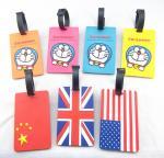 Buy cheap Luggage tag wholesale custom standard size soft baggage tag pvc luggage tag from wholesalers