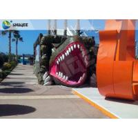 Buy cheap Vivid Green Dinosaur 5D Movie Theater Nine Seats With Luxury Chairs product