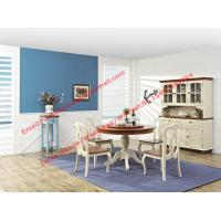 Buy cheap Mediterranean Style Dining room Furniture by wood table and chairs with Buffet from wholesalers