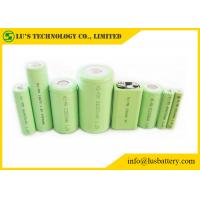 Buy cheap NIMH 1.2 V Rechargeable Battery Pack , 9 Volt Nickel Metal Hydride Battery from wholesalers