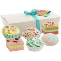 Buy cheap Cute Natural Vegan Spa Bath Bombs Truffles Gift Set / Children 'S Bath Fizzies from wholesalers