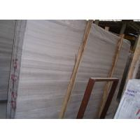 Large White Wooden Marble Stone Slab For Countertops 240up X 120up Cm