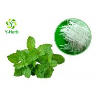 Buy cheap Natural Flavour Essence Herbal Extract Powder 99.5% Mint L - Menthol Crystal from wholesalers