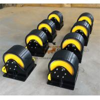 Buy cheap PU Coated  Welding Turning Rolls To Rotate Pipes / Tubes / Cylinders from wholesalers