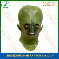Buy cheap X-MERRY Realistic alien man latex adult deluxe halloween costume top props mask for sale xhm082 from wholesalers