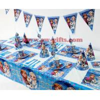 Buy cheap Disney Frozen Princess Anna Elsa Kids Birthday Party Decoration Set Party Supplies Baby Birthday Party Pack event party from wholesalers