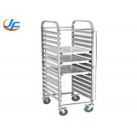 Buy cheap Bakery Equipment Cake Baking Tray Trolley Food Trolley With Pan Stainless Steel from wholesalers
