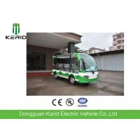 Buy cheap Battery Operated 4 Wheel Electric Shuttle Bus 48V Motor For Public Area Transportation from wholesalers