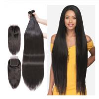 Buy cheap Unprocessed Peruvian Virgin Human Hair Extensions 40 Inches Silky Straight from wholesalers