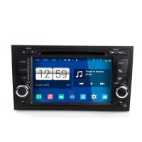Buy cheap 2DIN android car dvd android 4.4.4 HD 1024*600 for Audi A4 with 4 Core CPU, Mirror link from wholesalers
