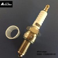 Buy cheap White ceramic D8TC Motorcycle Spark Plug  D8EA For H0NDA from wholesalers