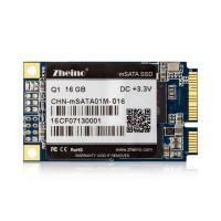 MLC Flash mSATA SSD 16GB 240GB SMI2246XT 35 MB/s Write Q1 3.3V Input