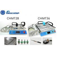 Buy cheap Small Desktop CHMT28 / CHMT36 SMT LED Pick And Place Machine With Laser Positioning from wholesalers