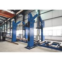 Buy cheap Tanks 360 Degree Overturning Rotator Chain Tilting Machine for H beam from wholesalers