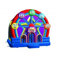 Buy cheap Commercial Inflatable Bouncer House Combo 0.55mm PVC Ferris Wheel from wholesalers