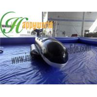 Buy cheap Fire Resistant Black Shark PVC Inflatable Boat , Inflatable Fly Fishing Boats from wholesalers