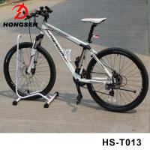 Buy cheap Portable Bicycle Parking Accessories Vertical Bike Repair Stand Steel Black Cycle Rack from wholesalers
