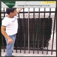 Buy cheap Antique Wrought Iron Fence Panels , Wrought Iron Privacy Fence Aging - Resistant from wholesalers