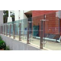 Buy cheap High Strength Security Toughened Glass Balustrades And Handrails from wholesalers