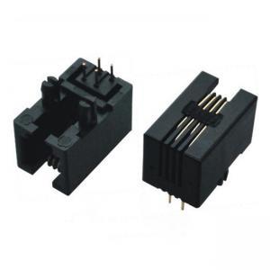 Buy cheap 6P6C 4P4C 4 Pin 6 Pin Female RJ11 Modular Jack product