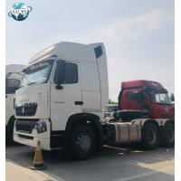 Buy cheap Used SINOTRUCK 10 Wheeler Wheel 6X4 371 420 hp HOWO A7 Trailer Tractor Truck Head from wholesalers