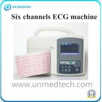 Buy cheap Medical EKG Touch Screen Portable Digital Six Channel ECG Machine Electrocardiograph from wholesalers