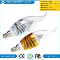 Buy cheap High Power 4W LED Candle Light Bulbs CRI 80 for living room from wholesalers
