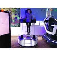 Buy cheap Manual / Automatic Joystick Standing Up 9D VR 3 - Dof Electric Platform from wholesalers