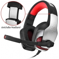 Buy cheap 3.5MM PS4 2.2kohm HUNTERSPIDER V4 Headset Gaming from wholesalers