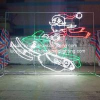 Buy cheap wire frame outdoor christmas decoration from wholesalers