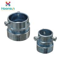 Buy cheap Hose Clamp Type Flexible Conduit Connector / Zinc Die Casting Emt Connectors from wholesalers