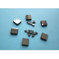Buy cheap Wood Woking Stone Metal Cutting PCD Die Blanks , Tips Inserts PCD Square Blanks For Cutting Stone product