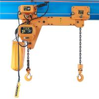 Buy cheap CE Certificate Double Hook Electric Chain Hoist 1Ton 5Ton Multi Weight ECH0.25+0.25 T Model from wholesalers
