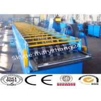 Buy cheap 25m / Min Speed Floor Deck Roll Former Metal Forming Machine With PLC Contol from wholesalers