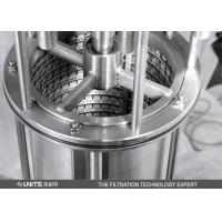 Buy cheap Stainless steel automatic Brush self cleaning irrigation filter or recycle water treatment from wholesalers