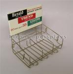 Buy cheap Retail Store Custom Metal Display Racks Tinned Vintage Tobacco Display Rack from wholesalers