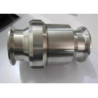 Buy cheap Hygienic Grade Stainless Check Valve One Way Flow Direction For Water Pipelines from wholesalers