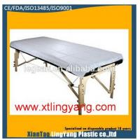 Buy cheap Waterproof Anti Dust Disposable Bed Sheets Without Elastic 70x20mm / 80x210mm from wholesalers