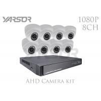Buy cheap 2MP 3.6mm Lens CCTV Dome Camera Kits , 1080P Wireless Security Camera System With DVR from wholesalers