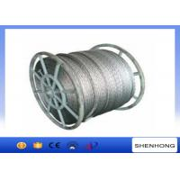 Buy cheap 18 Strands Anti Twist Wire Rope / Galvanized Steel Wire Rope 252kN 20mm Diameter from wholesalers