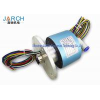 Buy cheap 300RPM High Precision Hybrid Slip Rings With 10-12mm Tube Size , Long Life Time from wholesalers