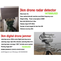Buy cheap Low price 3km drone radar detector Ku bands factory direct from wholesalers
