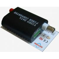 Buy cheap Mini 1-ch video with 1-ch Reverse RS485 to fiber multiplexer,FC or SC connector is optical from wholesalers