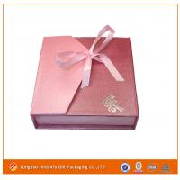 Buy cheap paper jewelry box for packaging from wholesalers