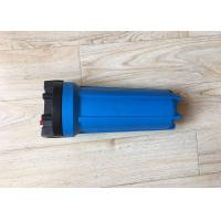 Buy cheap 10 Inch Single O Ring Blue Water Filtration Housing With Air Release Button from wholesalers