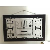 Quality iso 12233 2000 standard camera testing chart 2000 lines 0.5x test chart 200mm for sale