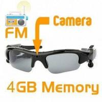 Buy cheap DV86A 4GB Spy Camera Sunglass MP3 with FM from wholesalers