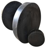 Buy cheap Laminated Elastic rubber bridge bearing pad/bridge pot bearing product
